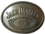Jack Daniel's Old No.7 Officially Licensed Belt Buckle + display stand